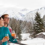 Hotel Oberstdorf - Die Winterlandschaft vom Hotel aus geniessen