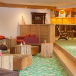 Hotel Oberstdorf - Lese und Lounge Ecke