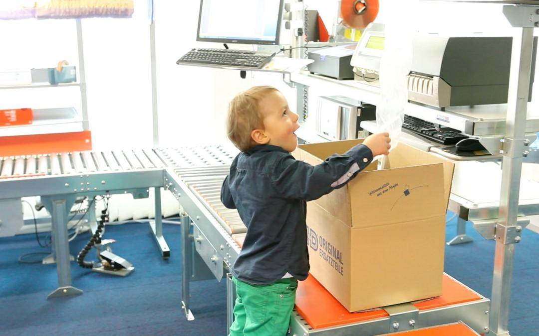 """""""Kinderleicht verpacken"""" bei Hagenauer Denk KG in Seifen"""