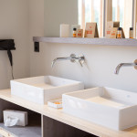 Die neuen Badezimmer im Chalet - Hotel Oberstdorf