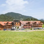 Hotel Oberstdorf - Aussenansicht im Sommer nach Umbau 2013