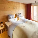 Schlafzimmer im neuen Chalet - Hotel Oberstdorf