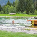Spass im Naturbadesee - Hotel Oberstdorf