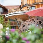 neuer Terrassenbereich im Hotel Oberstdorf