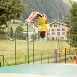Mountain Beach - Montafon - Spass auf dem Trampolin