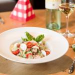Frischer knackiger Salat - Restaurant Inizio