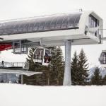 Ski-Opening in Ofterschwang Gunzesried - die neue Kabinenbahn ist in Betrieb