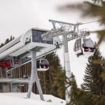 neue moderne Kabinenban in Gunzesried zur Weltcuphütte