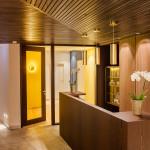 Neu gestalteter Eingangsbereich zur Physiotherapie-Abteilung - Hotel Allgäu Sonne