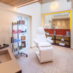 Neu gestalteter Kosmetik-Anwendungsbereich im Hotel Allgäu Sonne in Oberstaufen