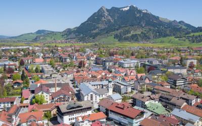 Luftaufnahmen für die Stadt Sonthofen