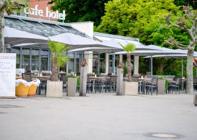 Aussenaufnahme - Cafe Schreier auf der Insel - Lindau