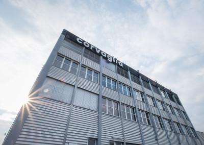 Fima Corvaglia Hauptsitz Schweiz - Aussenaufnahme