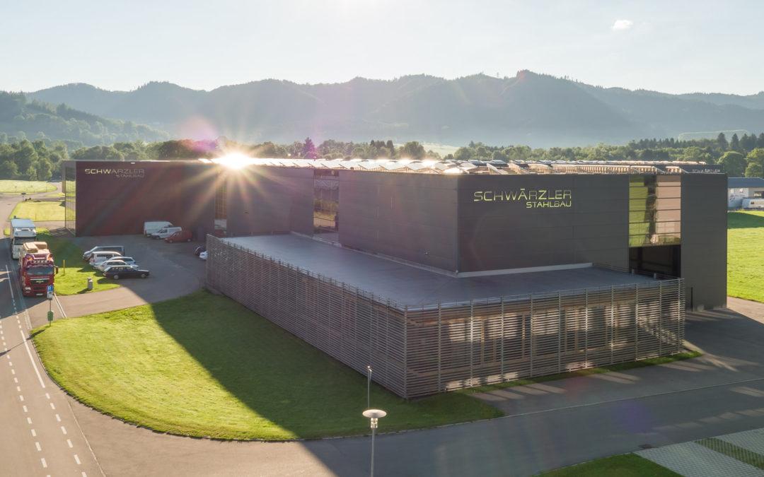Luftbilder und Architekturaufnahmen bei Schwärzler Schneidetechnik