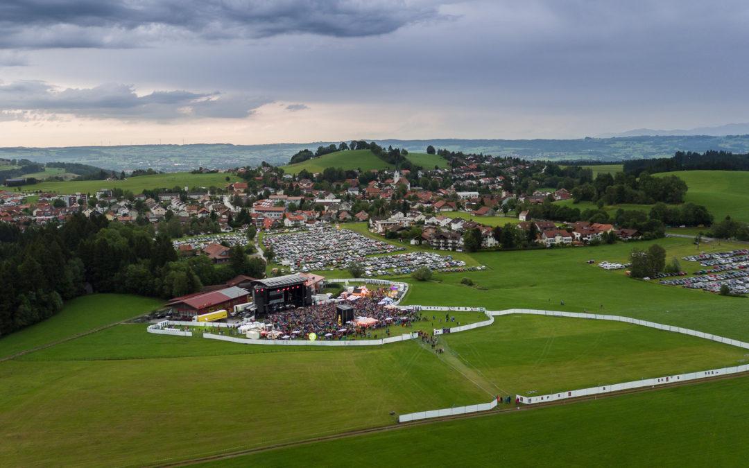 Luftaufnahmen für Allgäu Concerts